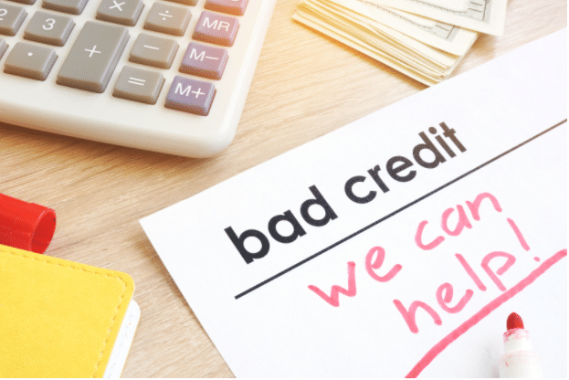 if you have bad credit, we can help you fix it