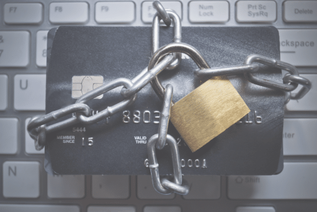 lock down your credit cards so you don't abuse them
